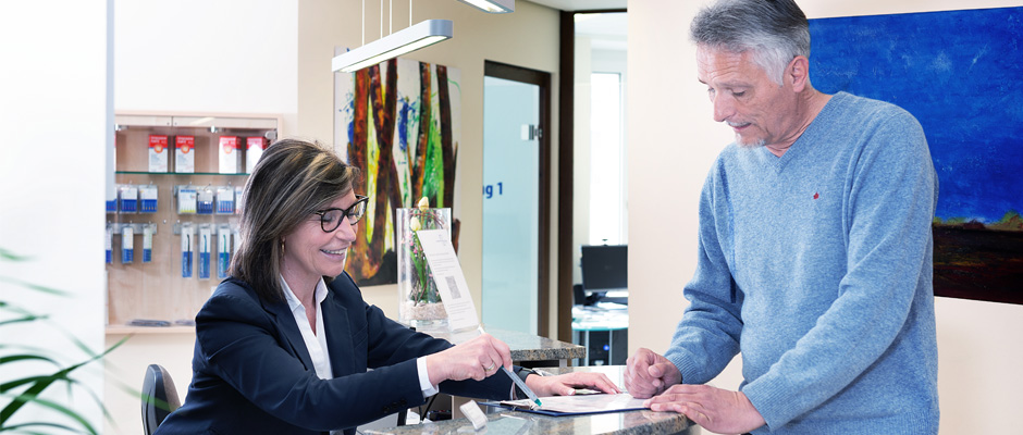 Service für Patienten in der Zahnarztpraxis Dr. Christian Ebel in Bad Kissingen