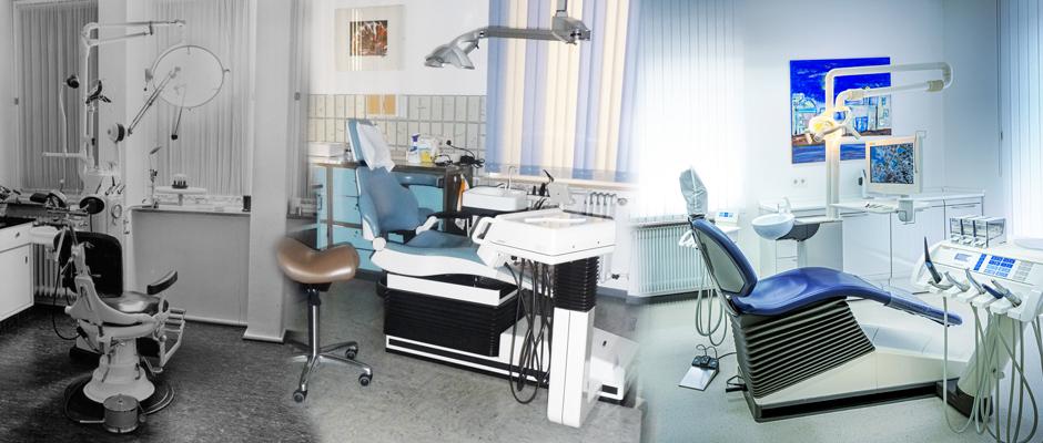 Chronik der Praxis in Nüdlingen und Bad Kissingen