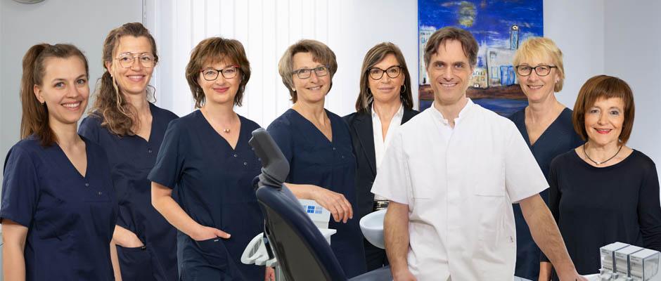 Die Assistent/innen der Zahnarztpraxis
